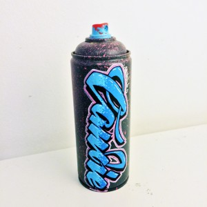 Candie graffiti upcycled spraycan