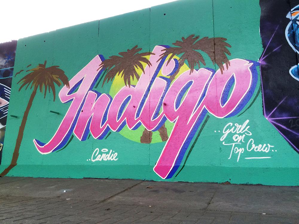 "Candie - ""Indgo"" retro wave Latimer Road"