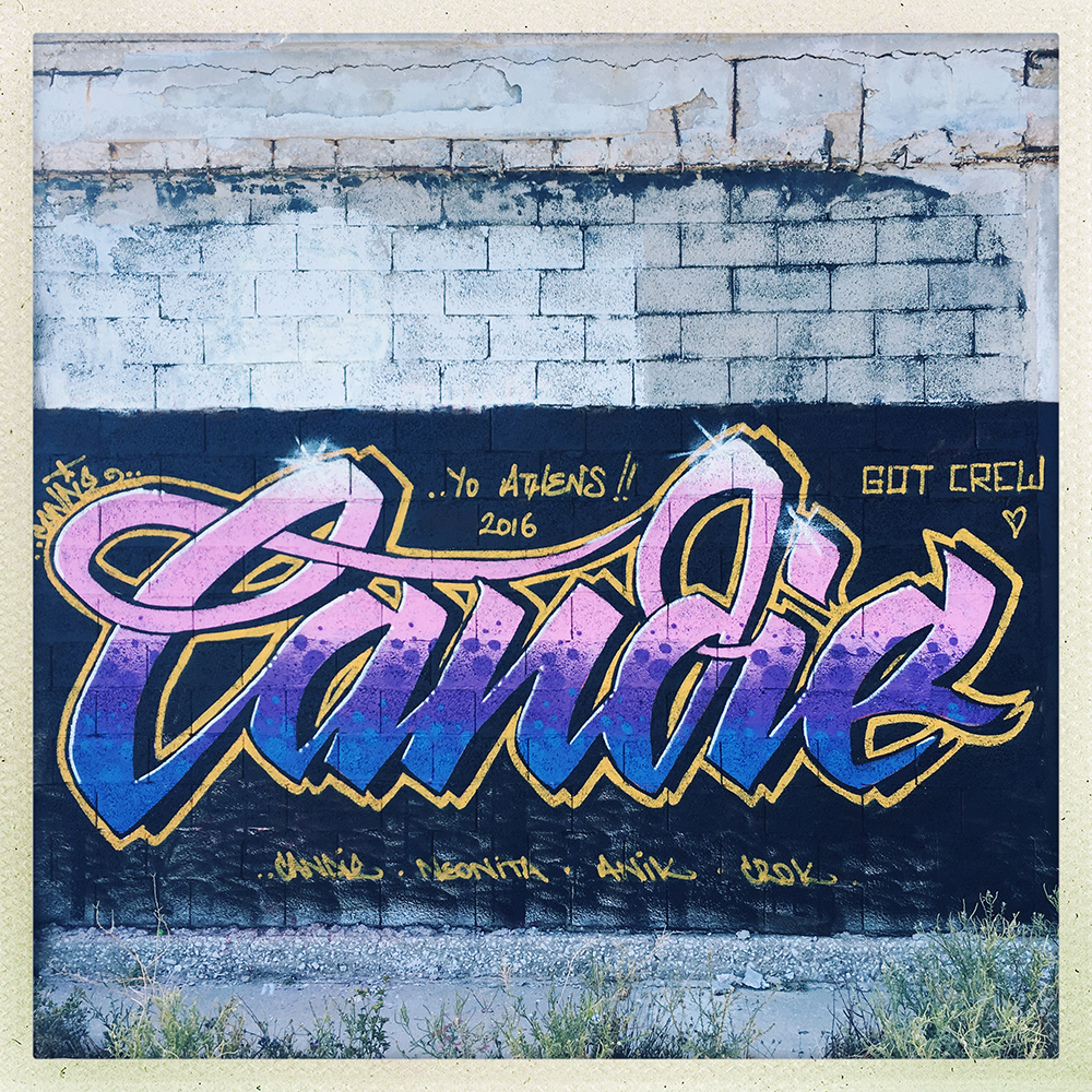 Candie Bandit - Athens 2016